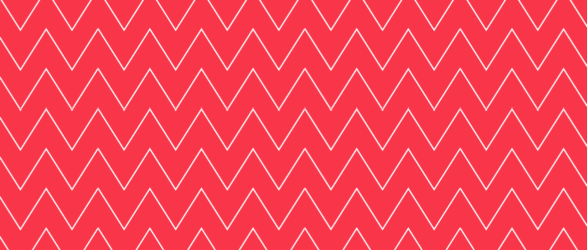 Rose Nacarat Chevron